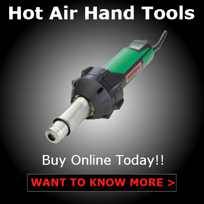 Hot air hand tools