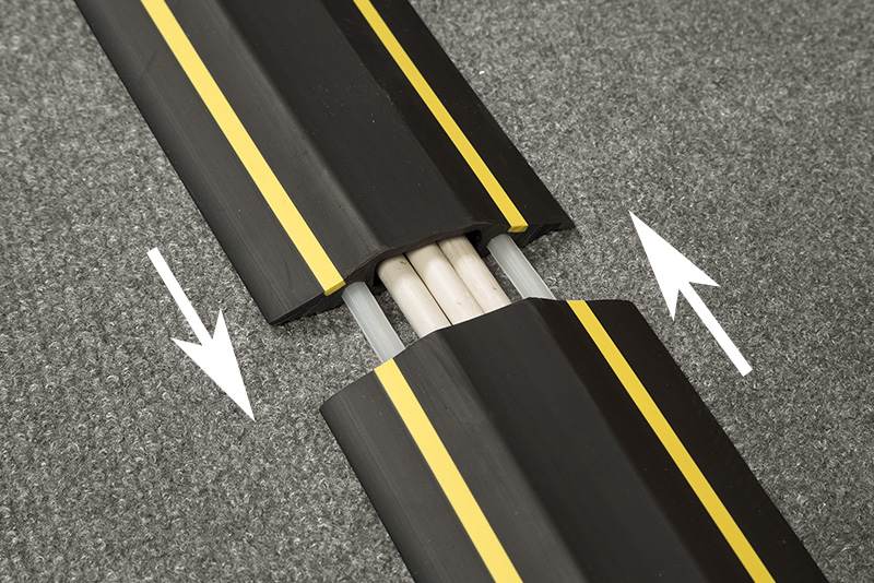 The Ribbed Back Makes The Lengths Non Slip, So Saving The Need For Adhesive  Tape, While The Pre Split Makes Installation Quick And Easy.