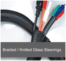 Braided Knitted Glass Sleevings