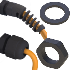 Cable Glands, Washer / Locknuts and Accessories