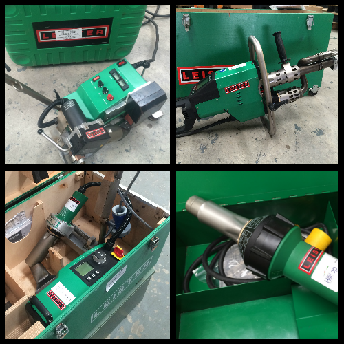 Used Leister & Other Heat Guns / Roof/Floor Welding Machines