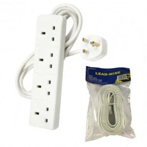 Socket & Telephone Extension leads