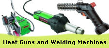 Heat Guns, Welding Machines and Protection