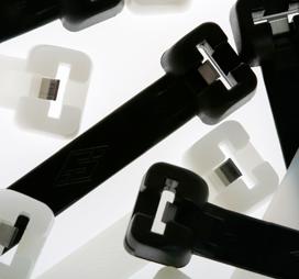 Metal Barbed Self Locking Cable Ties