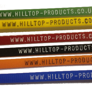 Printed Cable Ties with Hot Foil Stamp