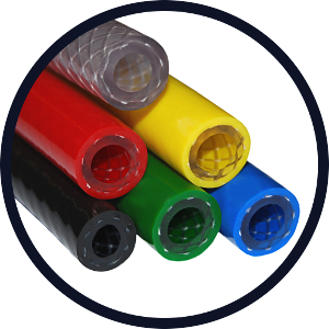 Reinforced Non-Phthalate Flexible Braided PVC Hose