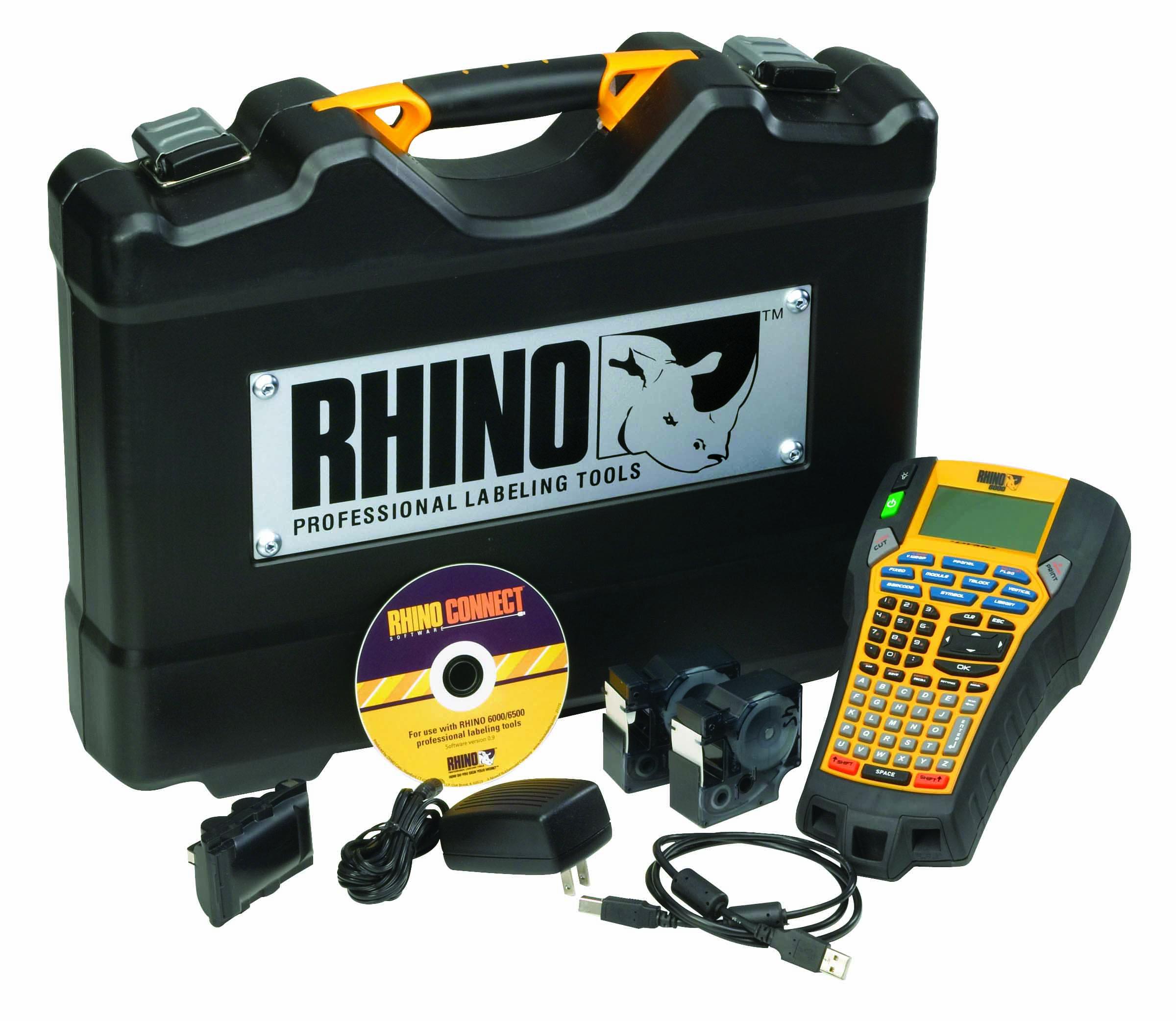 rhino labeling machine