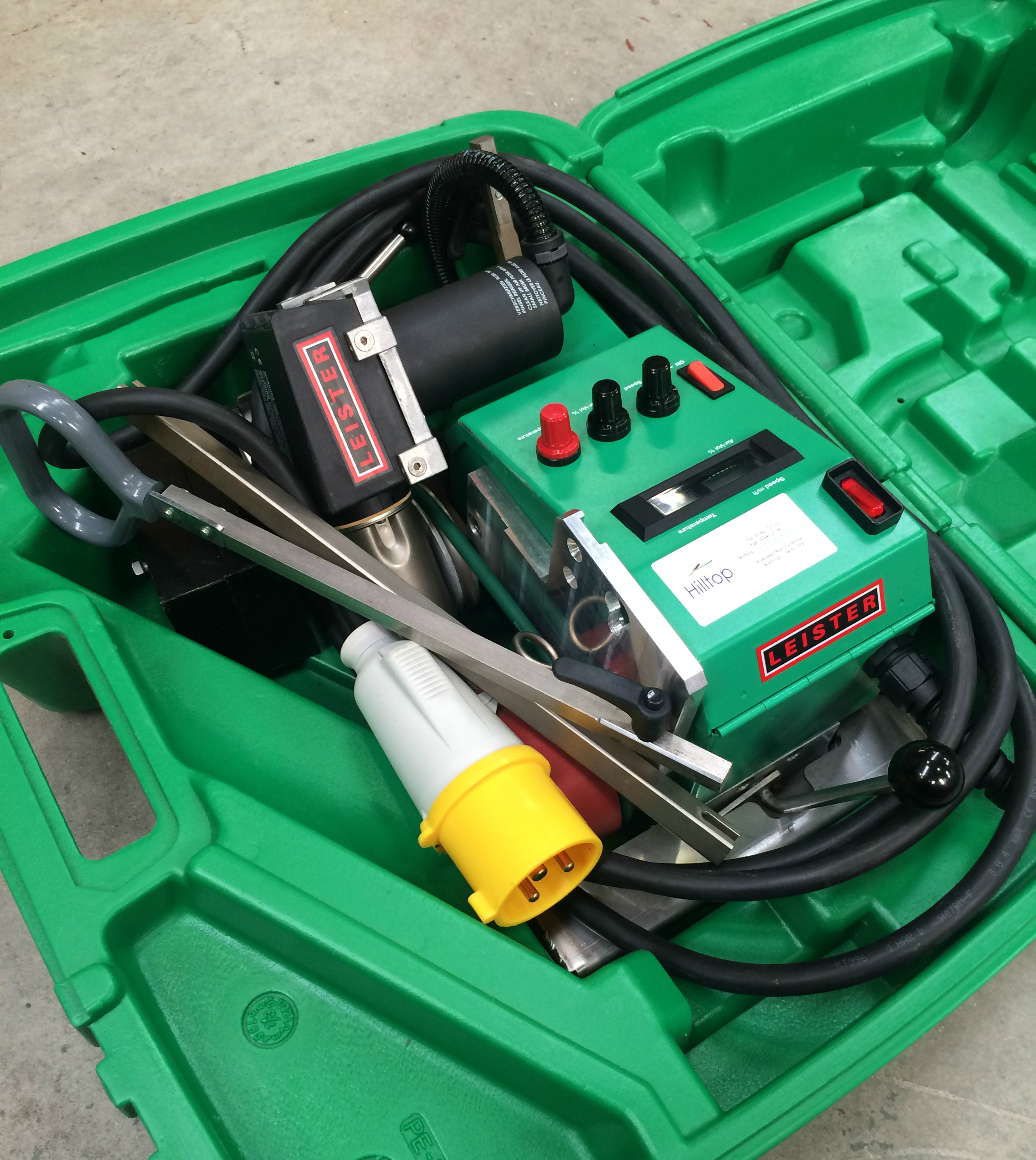 Used Roof, Floor & Tarpaulin Welding Machines