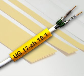 Flat Printable Zero Halogen Heat Shrink Tubing - ZH201B