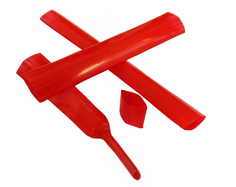 Teflon/PTFE Heat Shrink Tubing in Red