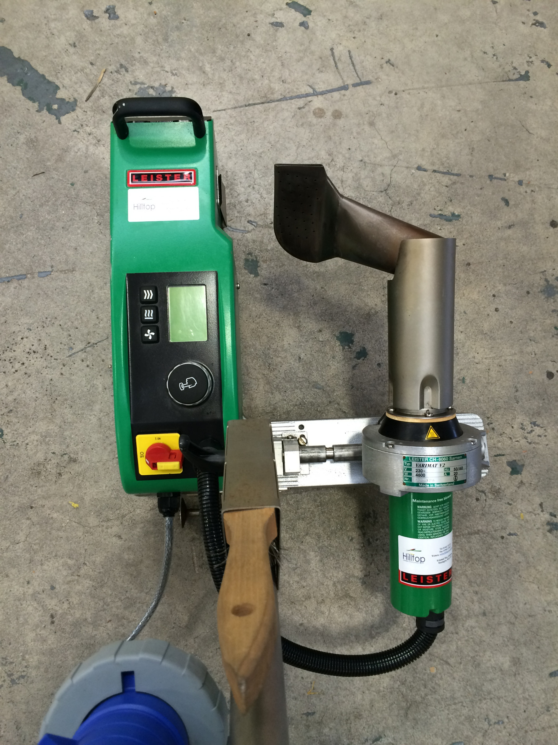Leister Varimat V2 Walking Dog Welding Machine