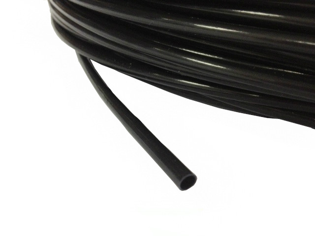PTFE Tubing - (3.84mm I/D x 0.38mm Wall) PF7 Black
