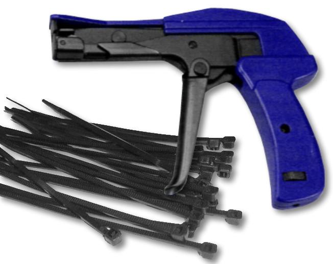 Cable Ties + Tensioning Tool Bundle