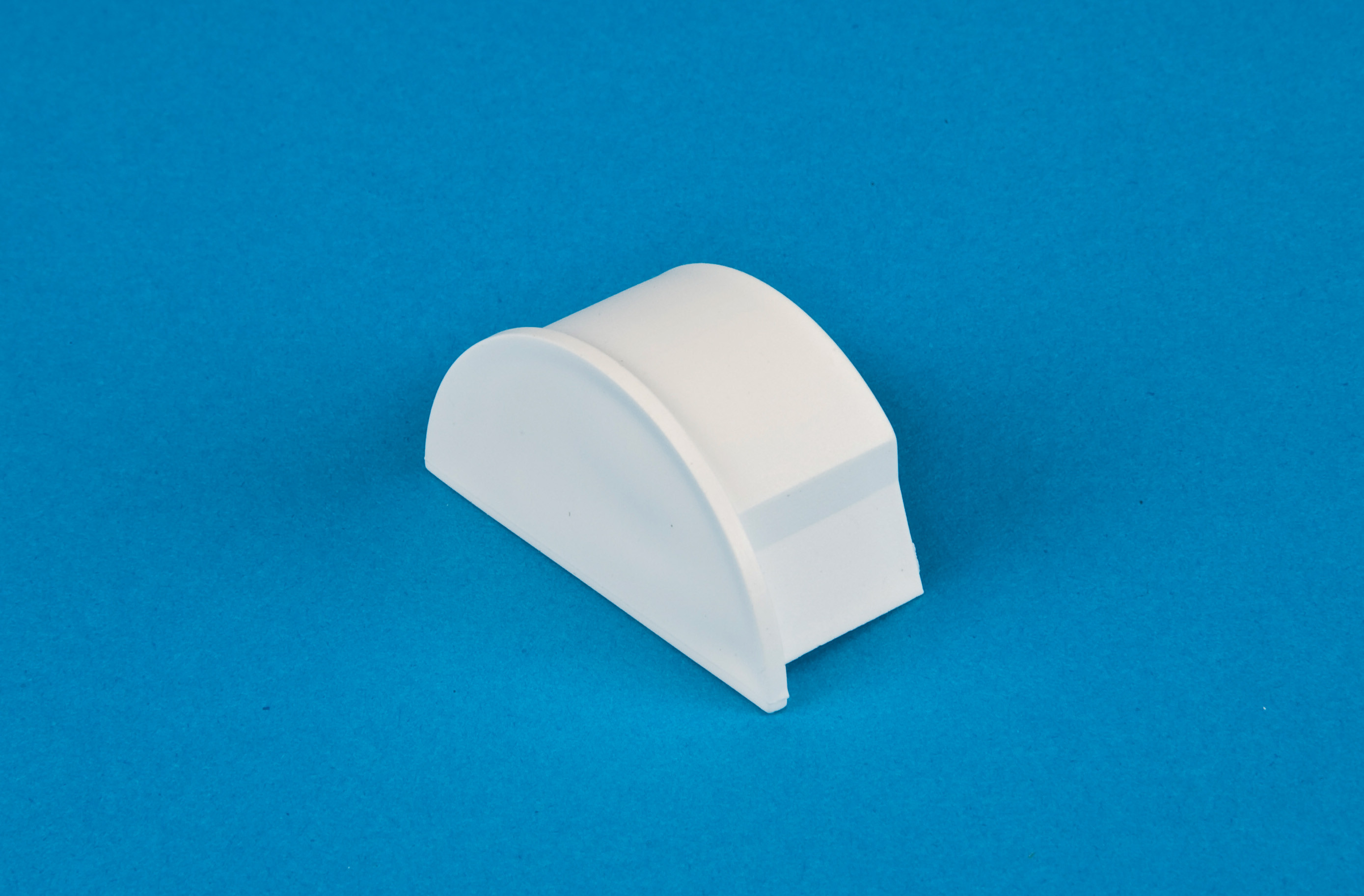 50 x 25mm Smooth-fit End Cap White