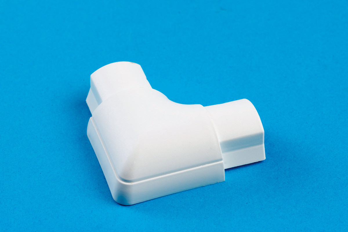 16 x 8mm Smooth-fit Flat Bend White