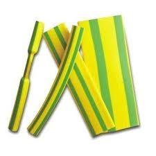 Heat Shrink Tubing HSP1 – 2.4mm I.D / 1.2mm I.D Green/Yellow