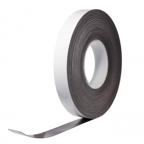 Write-on Magnetic Dry Wipe Tape 25mm
