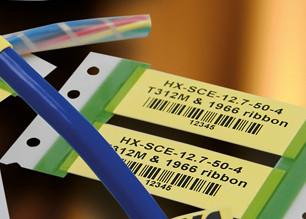 HX-SCE-25.4-50-4 Low Fire Hazard (LFH) Marker Sleeves Yellow - Mini Reels