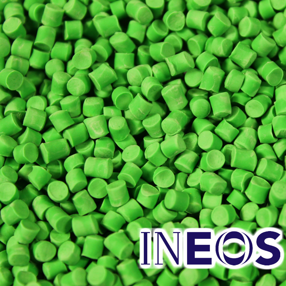 Ineos PVC Compound 20kg Green Pellets