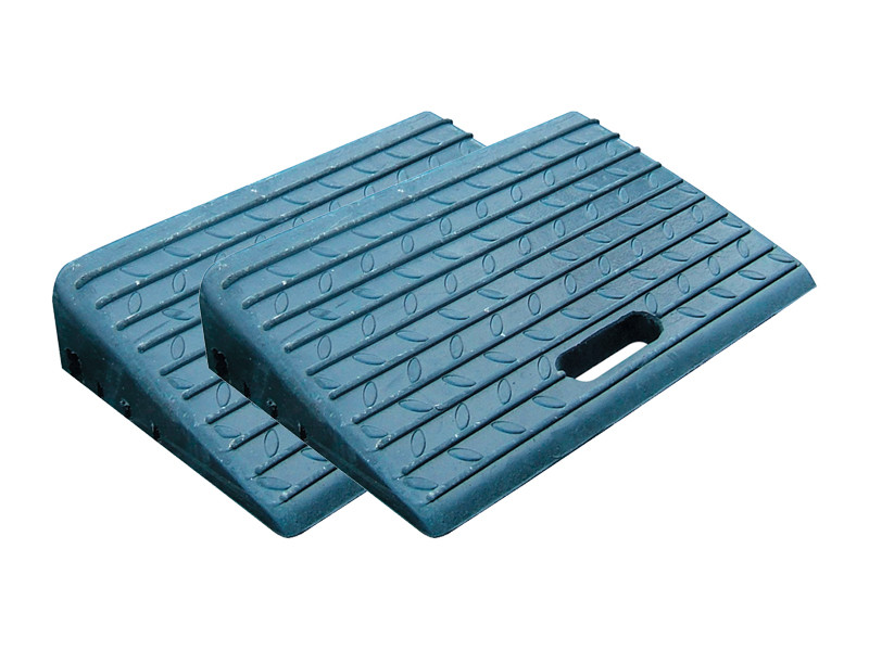 Rubber Kerb Ramp for Vehicles - Pack of 2