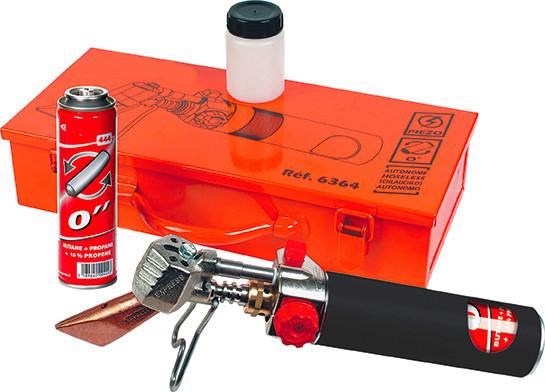 Roofer Hoseless Soldering Iron Kit in Metal case 6364