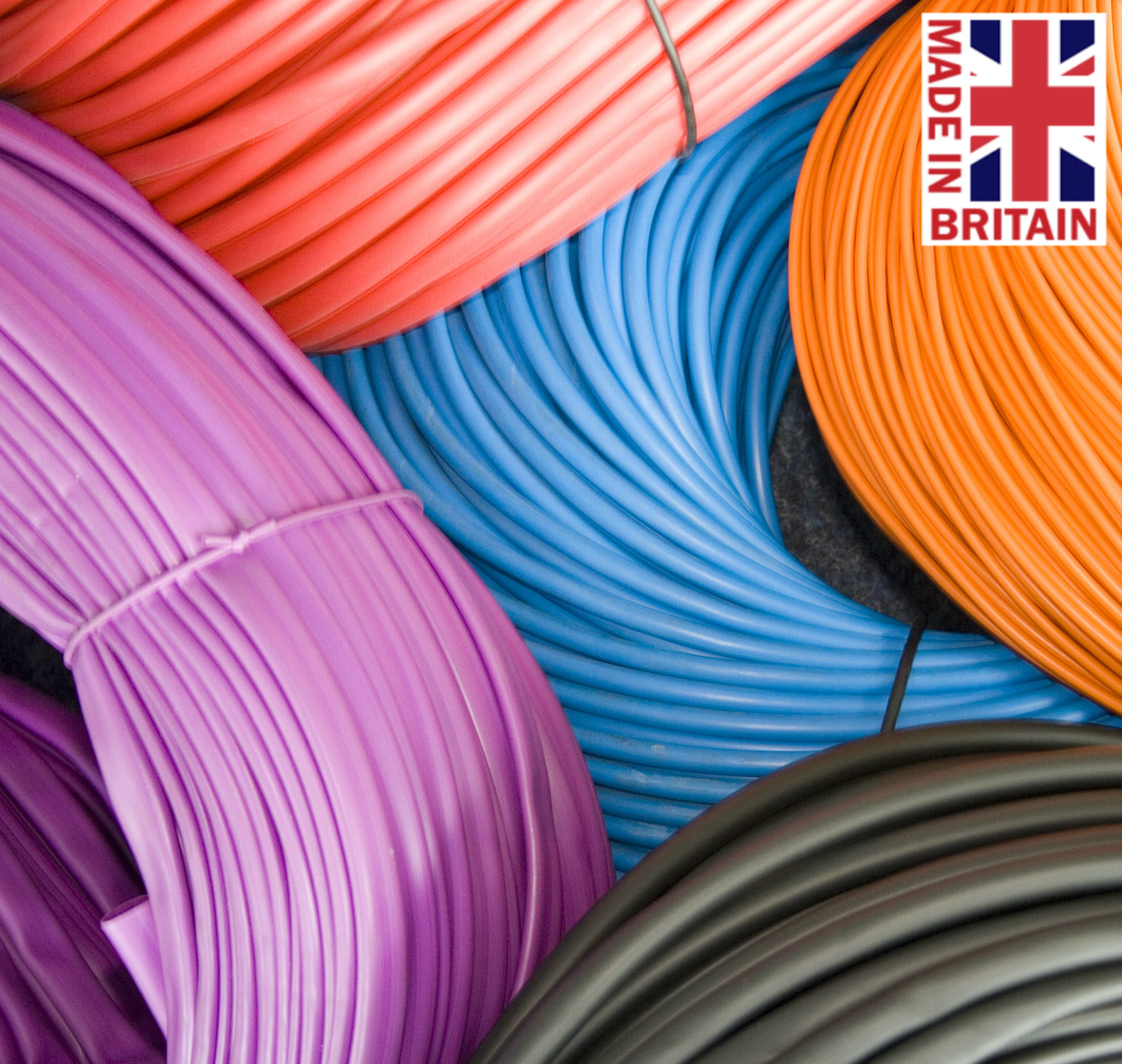 Non-Toxic PVC Sleeving Unique Colours / Wall Thickness