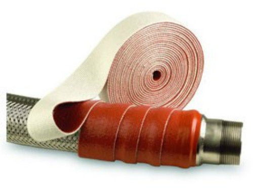 Pyrotape® Thermo Firetape - Silicone Coated Glass Fibre Tape PGT.3/ROS/75 - Size 75mm