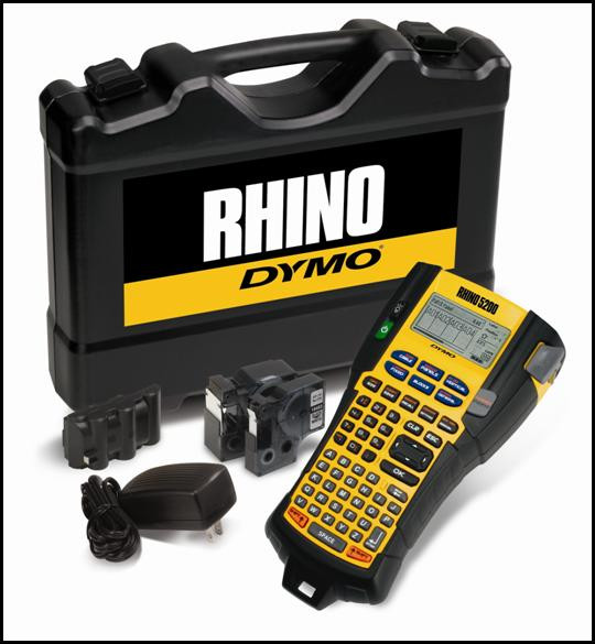 Dymo Rhino 5200 Labelling Machine Kit