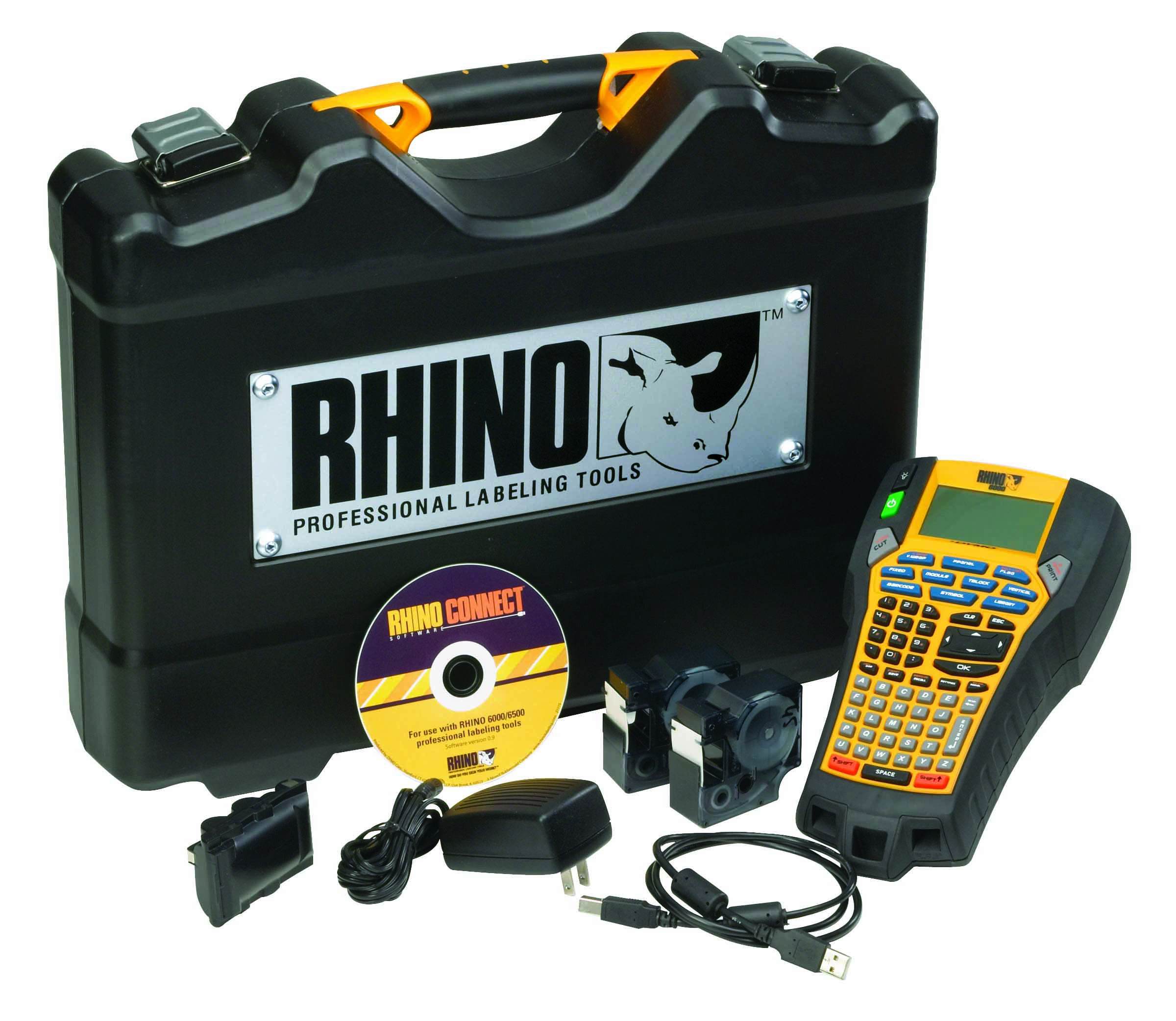 Dymo Rhino 6000 Professional Labelling Machine Kit