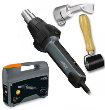 Steinel Tarpaulin Welding Repair Kit with HG 2420 E Hot Air Gun