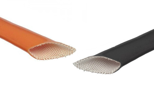 Vidaflex S350 - Silicone Coated Glass Braid