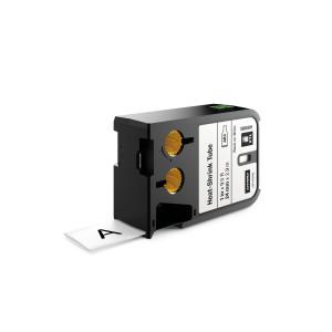 "DYMO XTL Continuous Heat Shrink Tube - size 24mm - 1868811 (1"") Black on White"