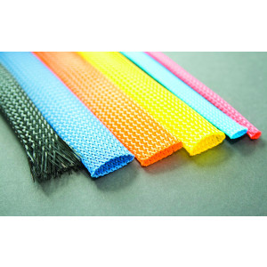 Expandable Braided Sleeving Colours - HILFLEX-PG