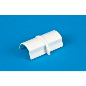 30 x 15mm Smooth-fit Connector White