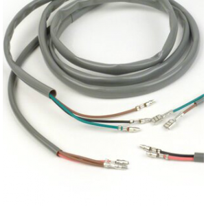 6mm Grey PVC Sleeving for Restoration / Repair / Motorcycle Harness Wiring