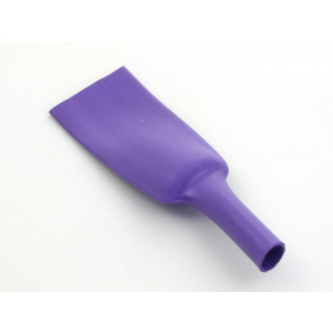 "RNF-100 size 3"" (76.2/38.1mm) Premium Heat Shrink Violet"