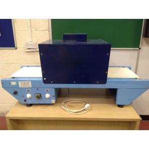 Bench Mounted Heat Tunnel / Shrink Wrapping Machine 550mm (USED137)