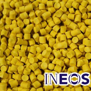 Ineos PVC Compound 20kg Yellow Pellets