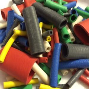Neoprene Rubber Chloroprene Sleeves Standard Colours