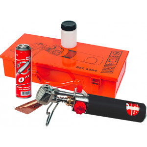Roofer Hoseless Soldering Iron Kit in Metal case 6364