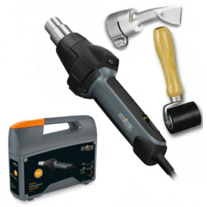 Steinel Tarpaulin Welding Repair Kit with HG 2420 E Hot Air Gun
