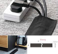 velcro cable cover for carpet carpet vidalondon. Black Bedroom Furniture Sets. Home Design Ideas