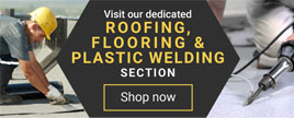 Roofing, flooring and welding