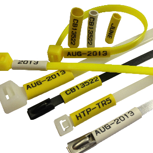 Printed Cable Ties PVC Markers