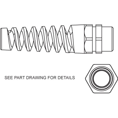 Spiral Cable Gland