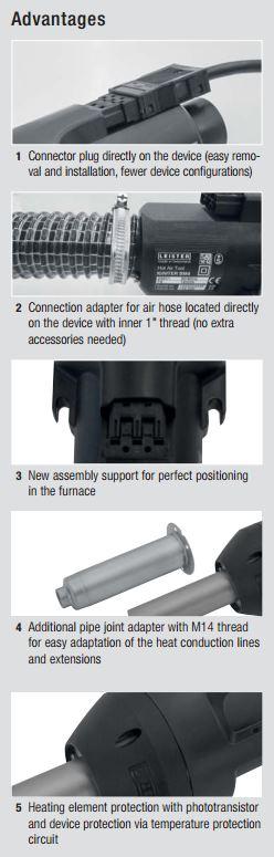 Leister Igniter Bm4 Blower 230v 1600w 50 Hz Process