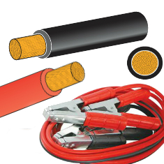 Battery and Welding Cable, Heavy Duty Jump Leads