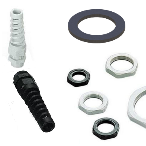 Cabe Glands, Locknuts and Washers