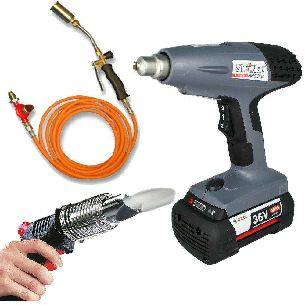 Cordless & Gas Heat Guns / Blow Torches