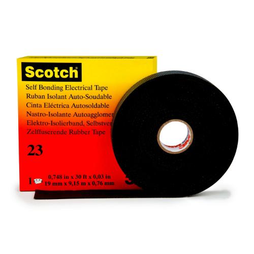 Genuine 3M Scotch 23 Self-Amalgmating Tape